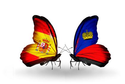Cran Canaria Spanien und Liechtenstein