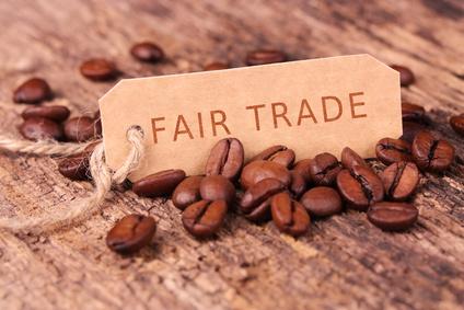 Fair trade Kaffee